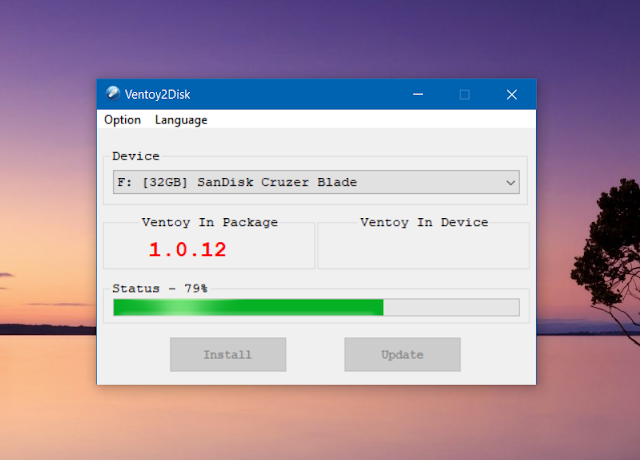 Ventoy Bootable USB creator