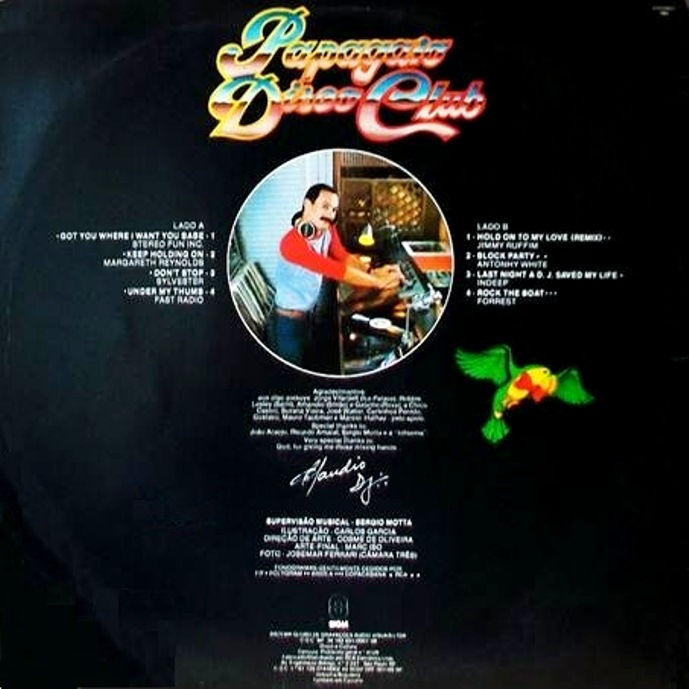 cd discoteca papagaio