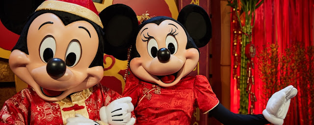 Disneyland Resort Welcomes the Year of the Mouse with a Limited-Time Lunar New Year Event