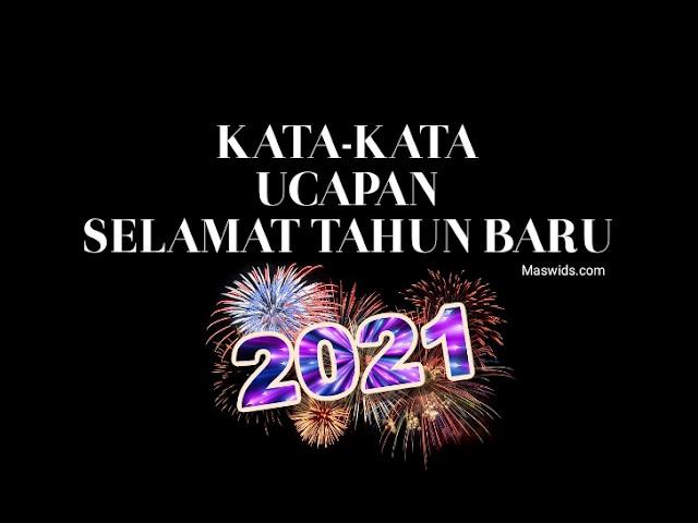 kata-ucapan-tahun-baru-2021