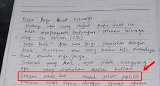 Kades Bunuh Diri Tulis Pesan: Lebih Baik Berdosa Satu Kali Lagi daripada Setiap Hari Terpaksa Bohong