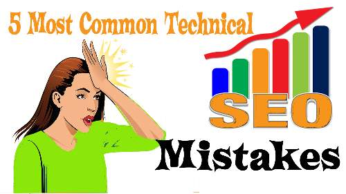 Most Common Technical Page mistakes SEO