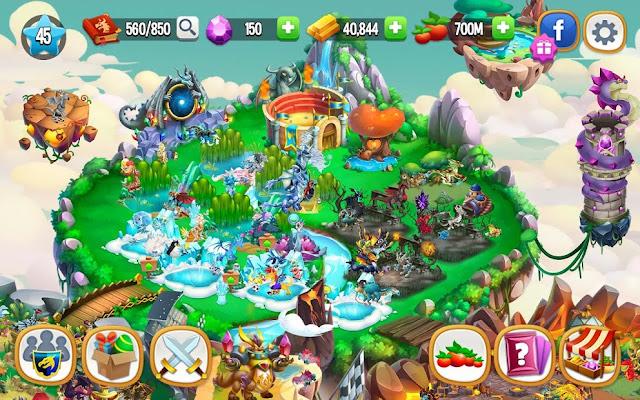 Dragon City Hileli Apk - Sınırsız Elmas Altın Hileli Apk