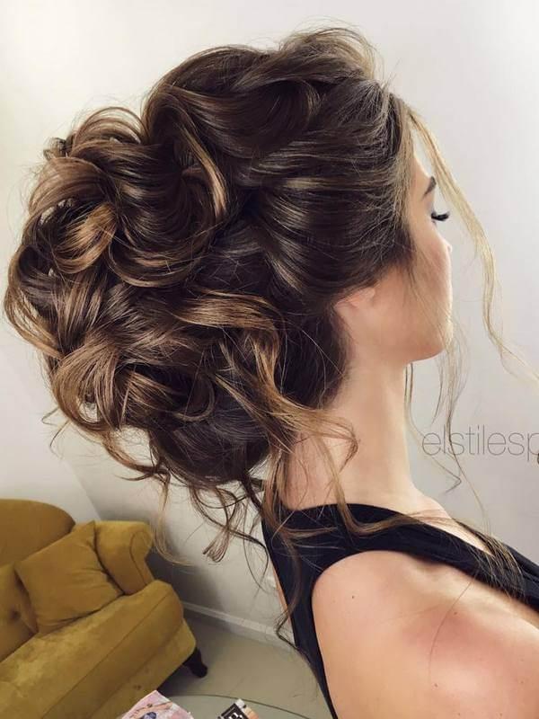 havalı gelin saçı modelleri