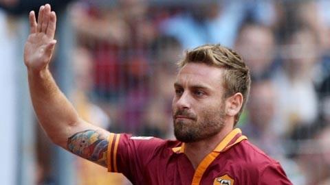 Roma đang có những trạng thái không cần đến cầu thủ Daniele De Rossi trong mùa giải tới.