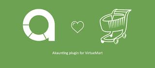 Akaunting for VirtueMart Plugin for Joomla CMS