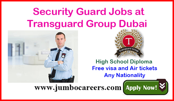 Dubai security guard jobs for Indians, Recent UAE jobs with salary,
