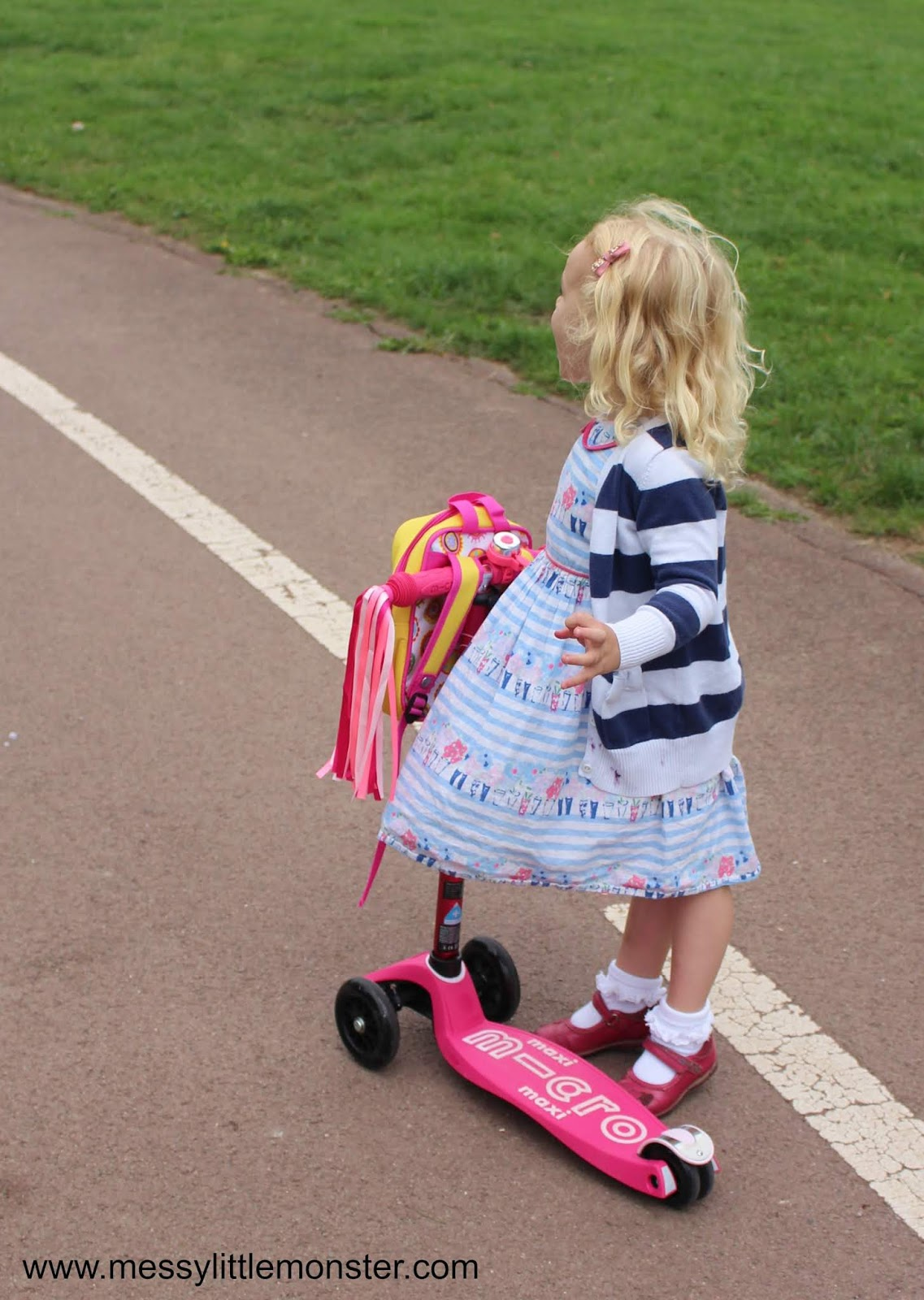 Micro Scooter review and how to get kids active - maxi micro