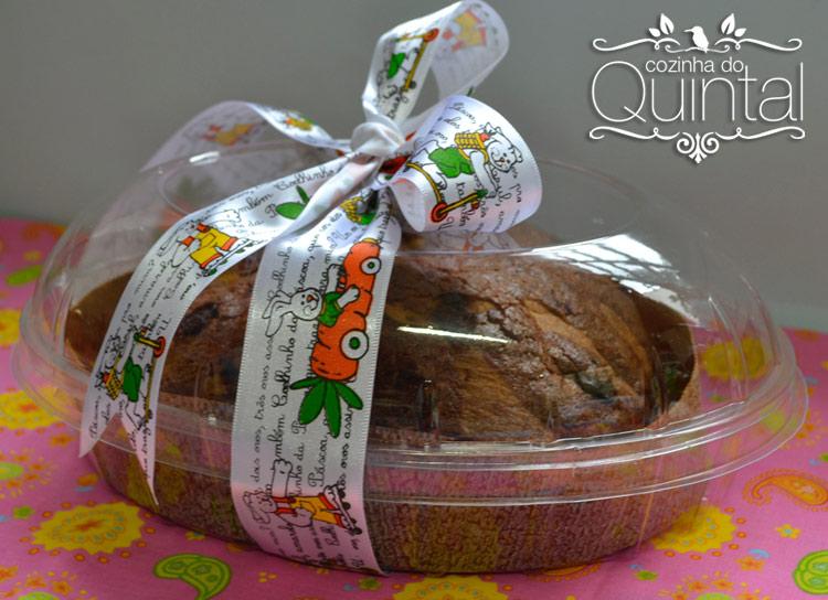 Embalagem para Colomba da Galvanotek na Cozinha do Quintal