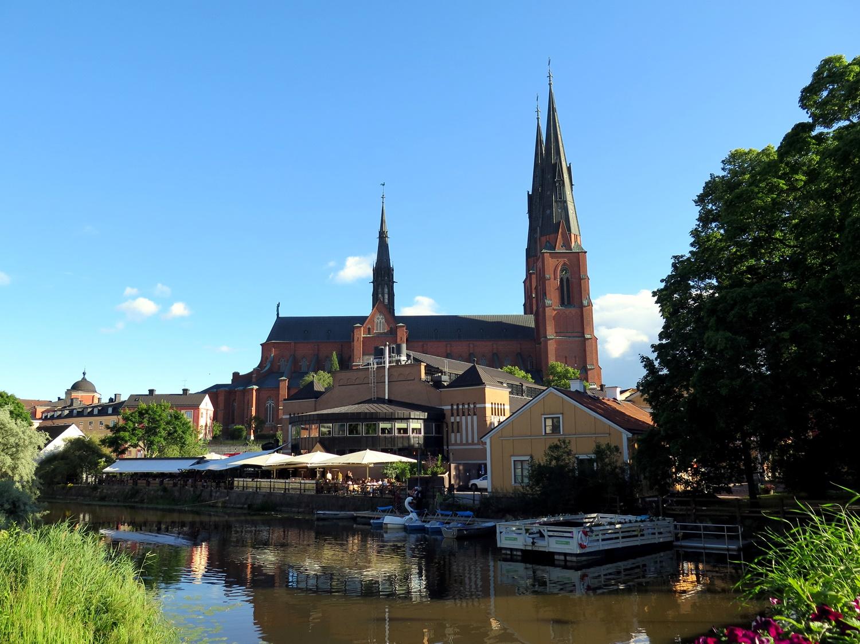 Szwecja - spacer po Uppsali. Katedra, muzeum Linneusza i ogrody botaniczne