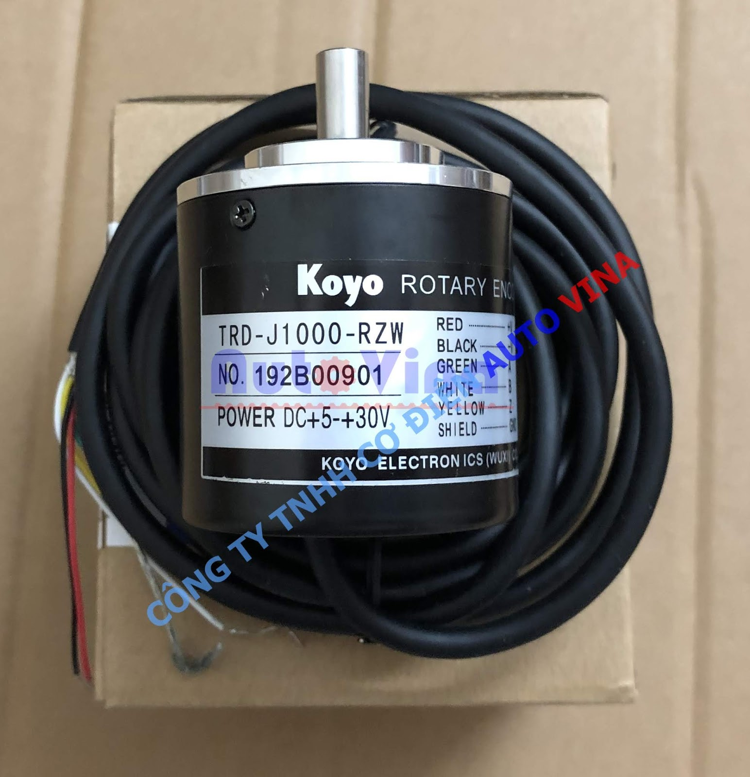 Đại lý bán Encoder Koyo TRD-J1000-RZW, công ty phân phối các loại Encoder hãng Koyo tại Việt Nam