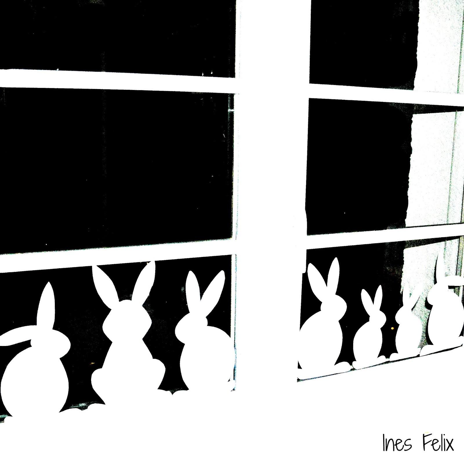 Ines felix kreatives zum nachmachen fenster blumen deko for Schattenbilder selber machen