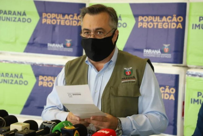 Covid-19: Transmissão volta a aumentar no Paraná, diz Secretário