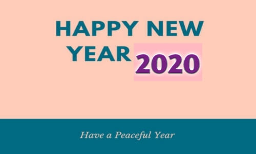 Happy New Year 2020 Images, Happy New Year 2020 Pictures