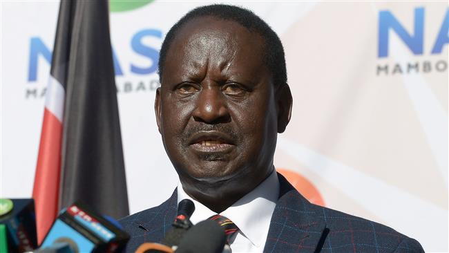 Kenyan opposition leader Raila Odinga files case against presidential election
