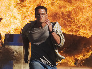 John Cena The Marine 2006 explosion