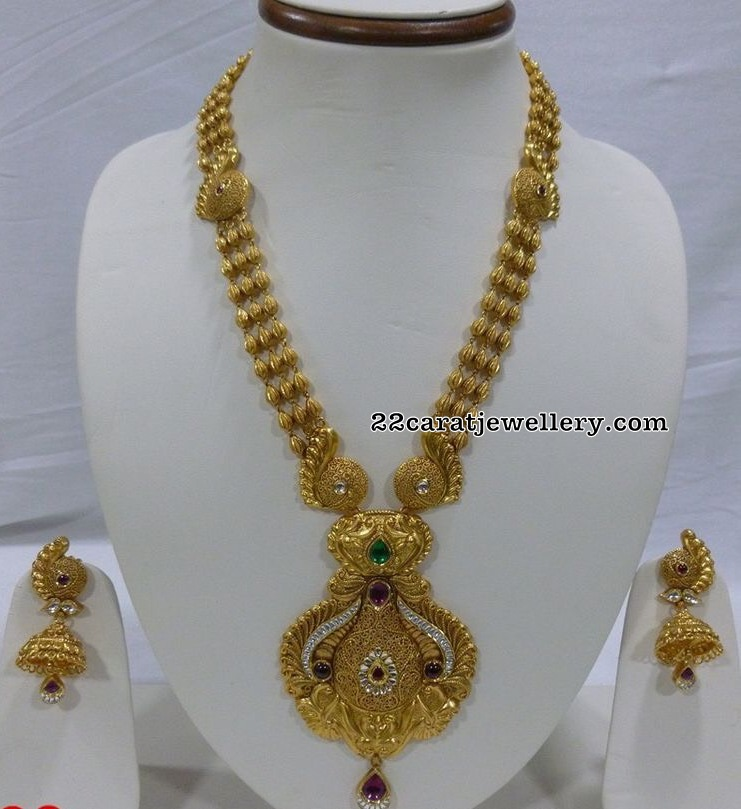 Kundan Finish Antique Jewellery