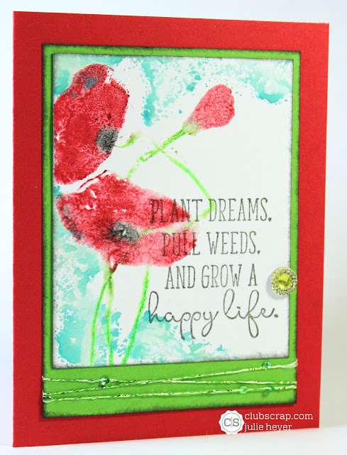#clubscrap #poppy #gelatos #rubberstamping #cards