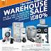มหกรรมลดล้างสต๊อก กลุ่มเครื่องใช้ไฟฟ้า SIEMENS แบรนด์ยุโรป  Warehouse Sale ลดสูงสุด 80%