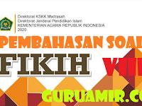 Pembahasan Soal fikih Kelas VIII Semester Genap Bab VI Haji dan Umrah KMA No 183 Tahun 2019
