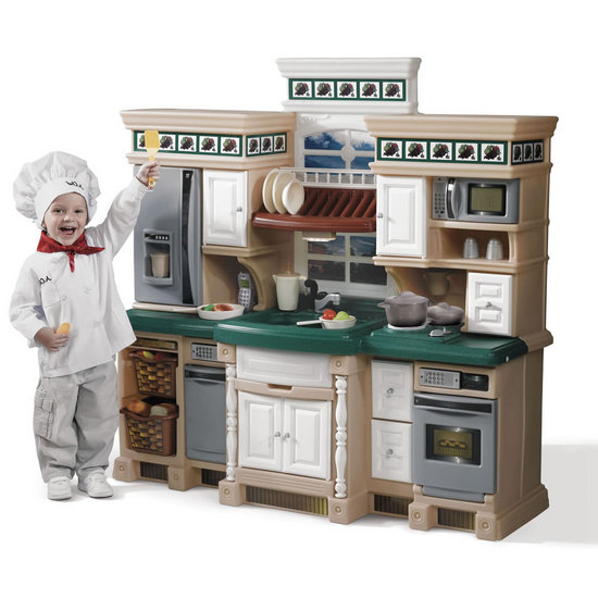 step 2 kitchen playset - kitchen remodel, cabinet, sink, faucet