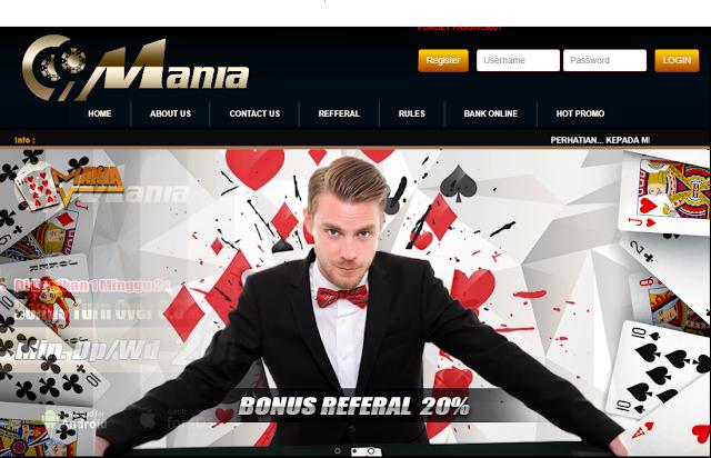 99Mania Adalah Agen Poker Online, Judi Poker, Agen Domino Paling Terpercaya