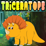 Games4King - G4K Yellow Triceratops Escape Walkthrough