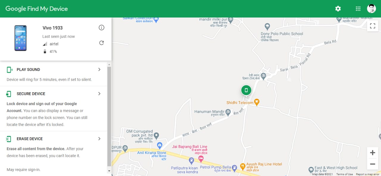 How to find a lost / stolen mobile location?