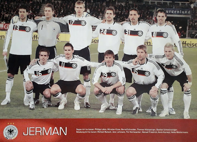 GERMANY DEUTSCHLAND FOOTBALL TEAM SQUAD 2007
