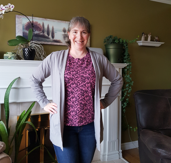 Cachet shirt and Harper cardigan | DevotedQuilter.com