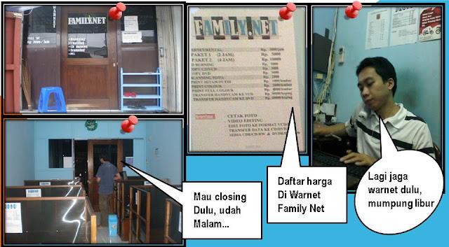 Usaha Warnet Family Net - Blog Mas Hendra