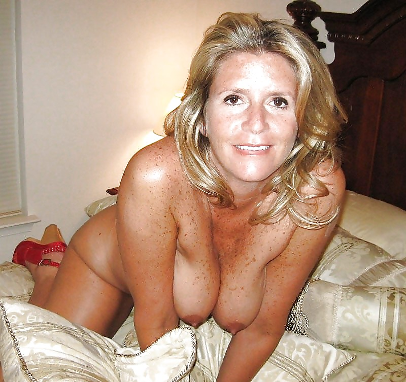 Dick in her mature pussy and between tits 9