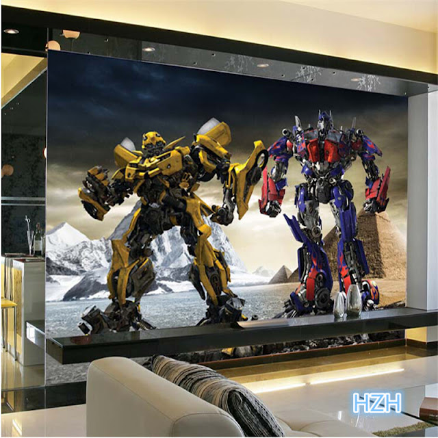 Transformers Wall Murals Kids Room