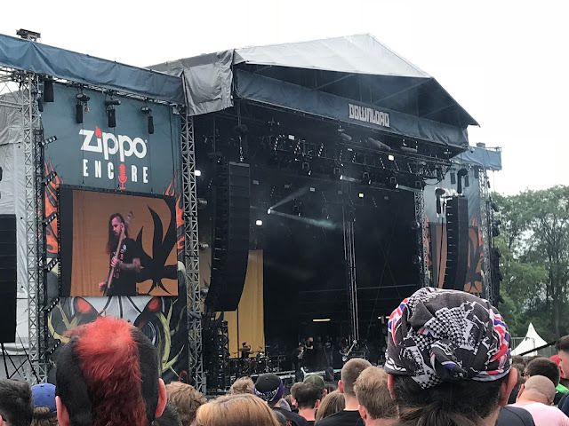 Bury Tomorrow at Download UK 2018