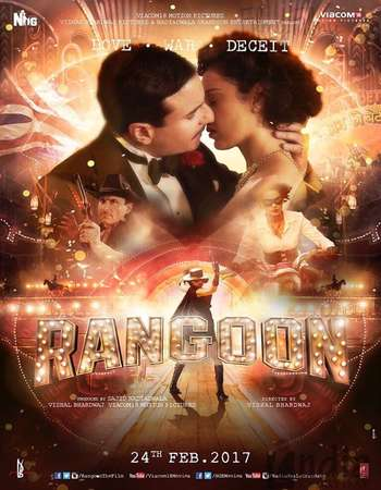 Rangoon 2017 Full Hindi Movie DVDRip Free Download