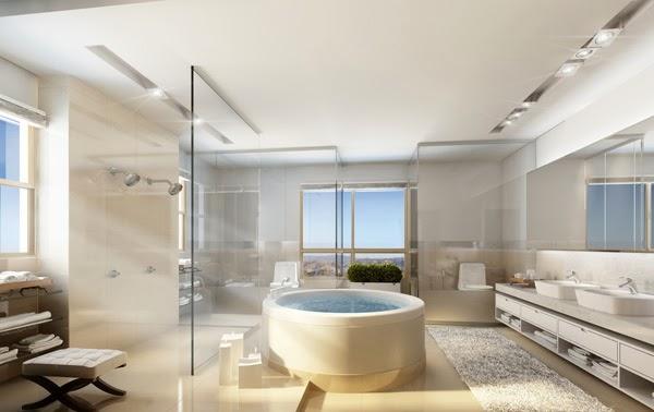 Inspirações de banheiros Luxuosos