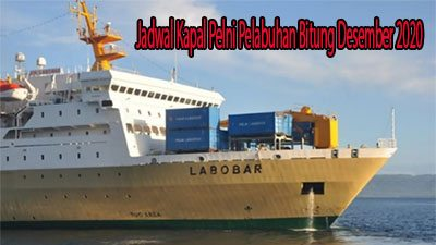 Jadwal Kapal Pelni Pelabuhan Bitung Desember 2020