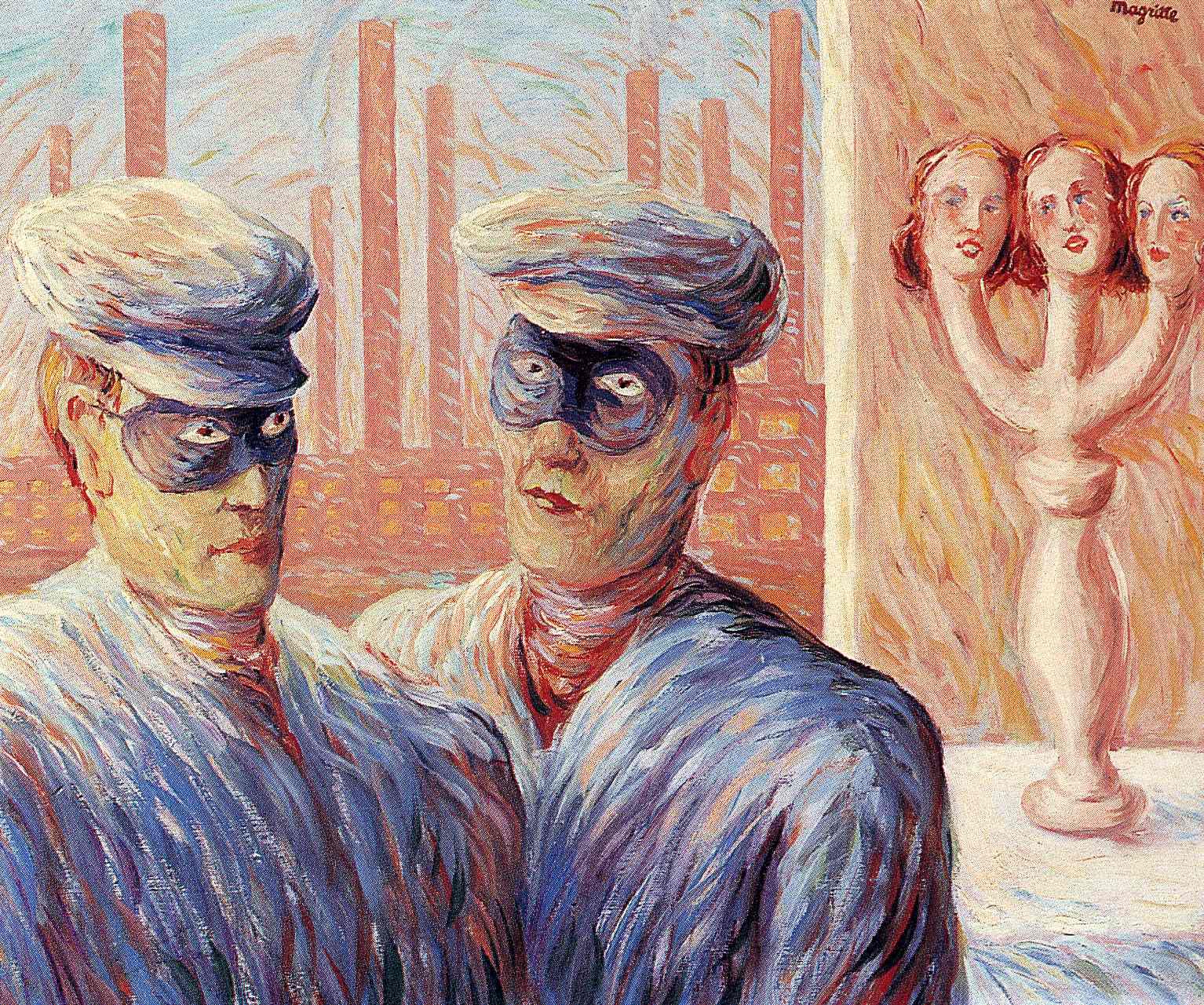 ren233 magritte surrealist painter tuttart pittura
