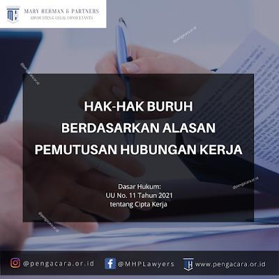 Hak Karyawan PHK menurut Omnimbus Law
