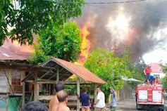 Tiga Rumah Dilalap Api di Wajo , Menelan Korban Jiwa