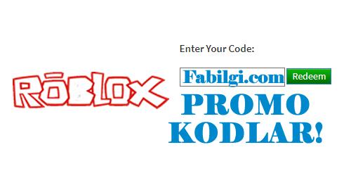 Roblox Promo Kodları Bedava Eşya Alma Yöntemi Haziran 2020