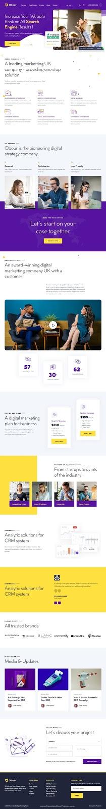 Premium Digital Marketing Agency WordPress Theme