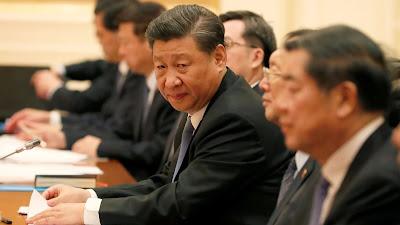 Xi Jinping Dalam Rapat