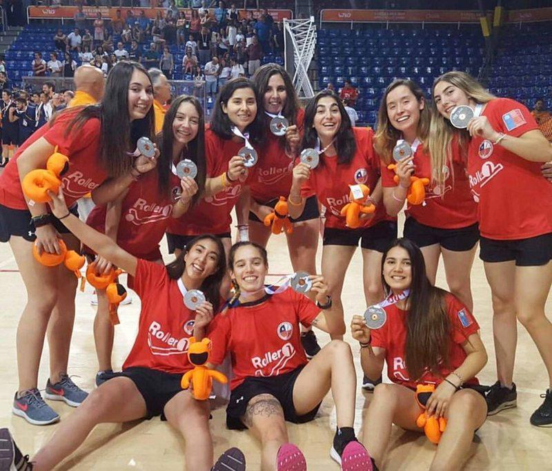 Las Marcianitas lograron el bronce en los World Roller Games