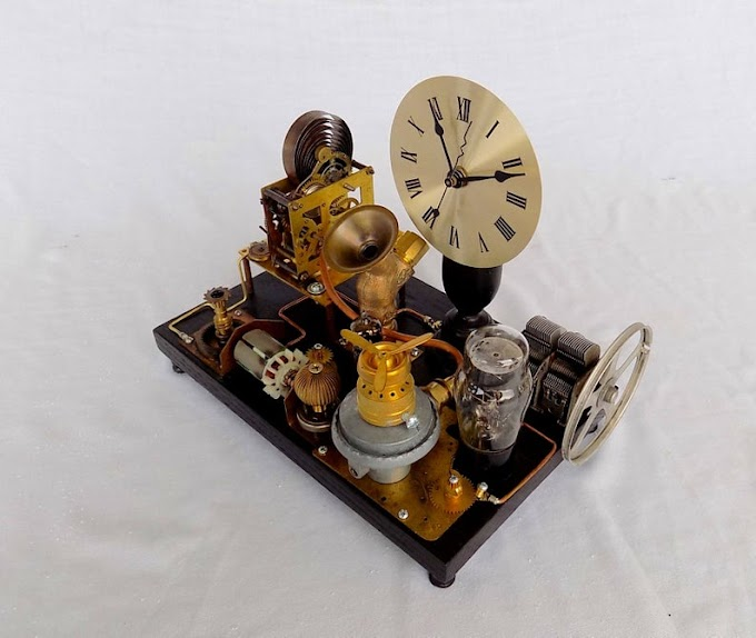 Steampunk Inspired Generator Is An Amazing Decorating Item For Your Home