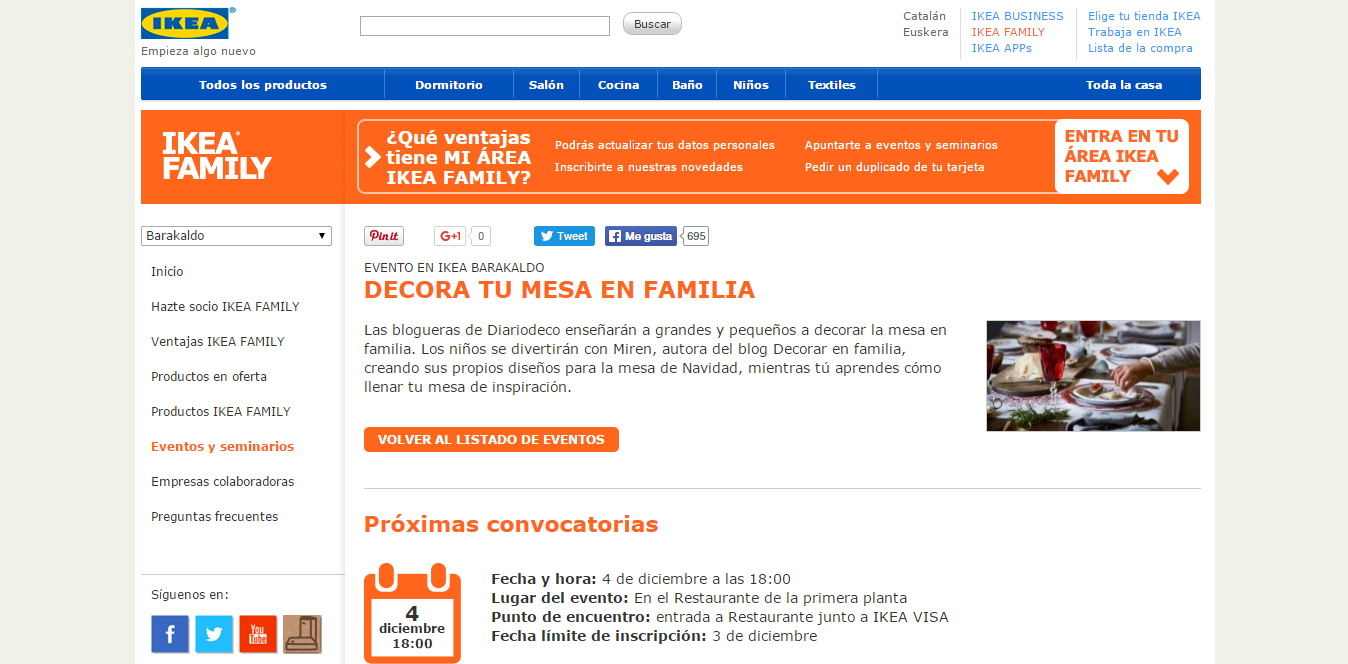 Decorar en familia: Taller navidad Ikea Diariodeco