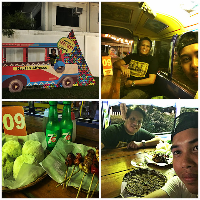 Jeepney Dining Experience at Mactan Alfresco Mactan Newtown Lapu-Lapu City