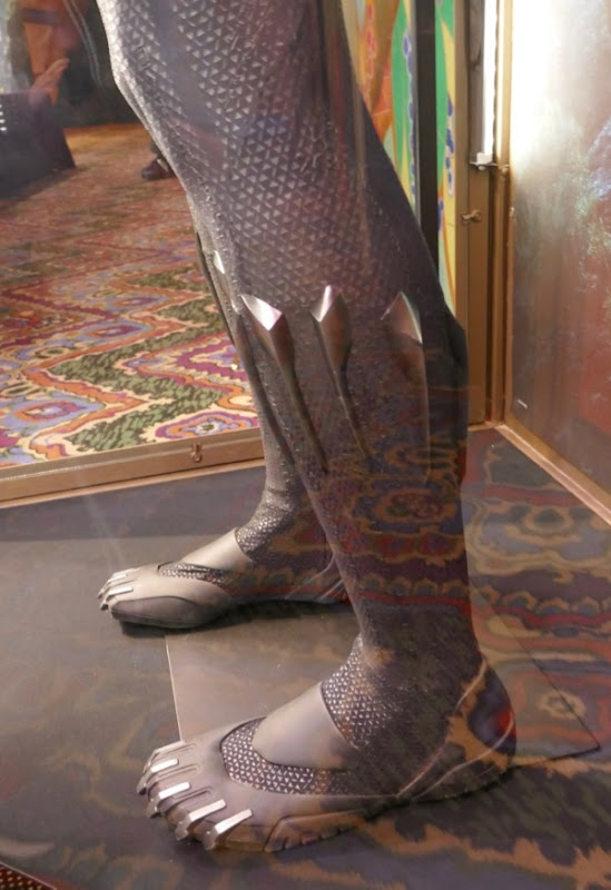 Black Panther costume legs