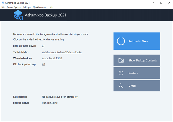 Ashampoo Backup 2021 Full License