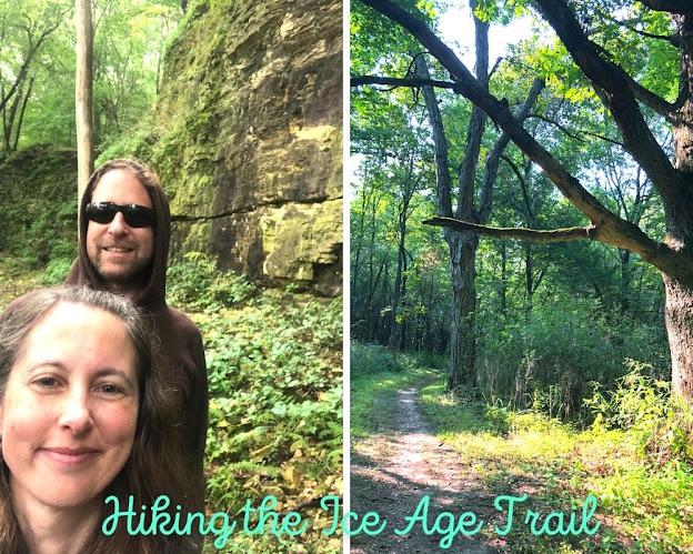 Hiking Wisconsin's Ice Age Trail in Janesville!